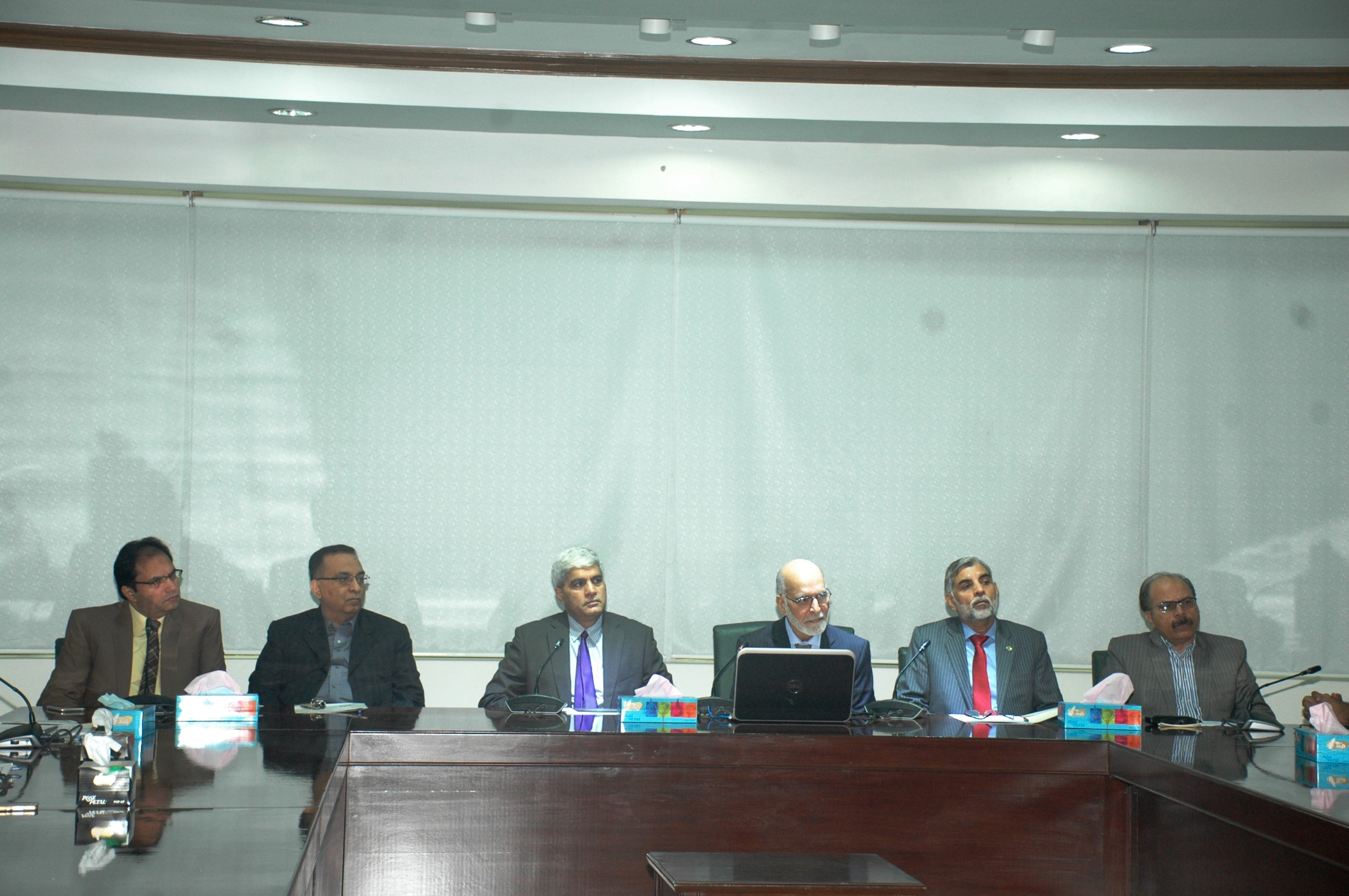 Meeting with VC at HEC Regional Office Lahore